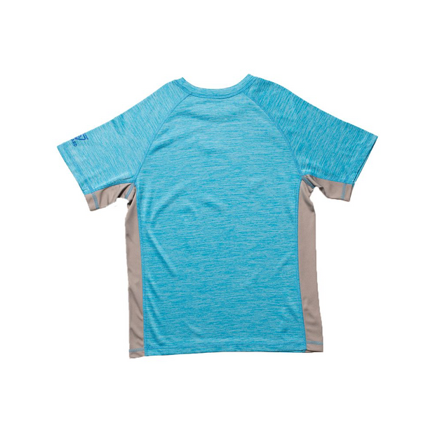 BOYS SPACED OUT RASHGUARD UV GUARD