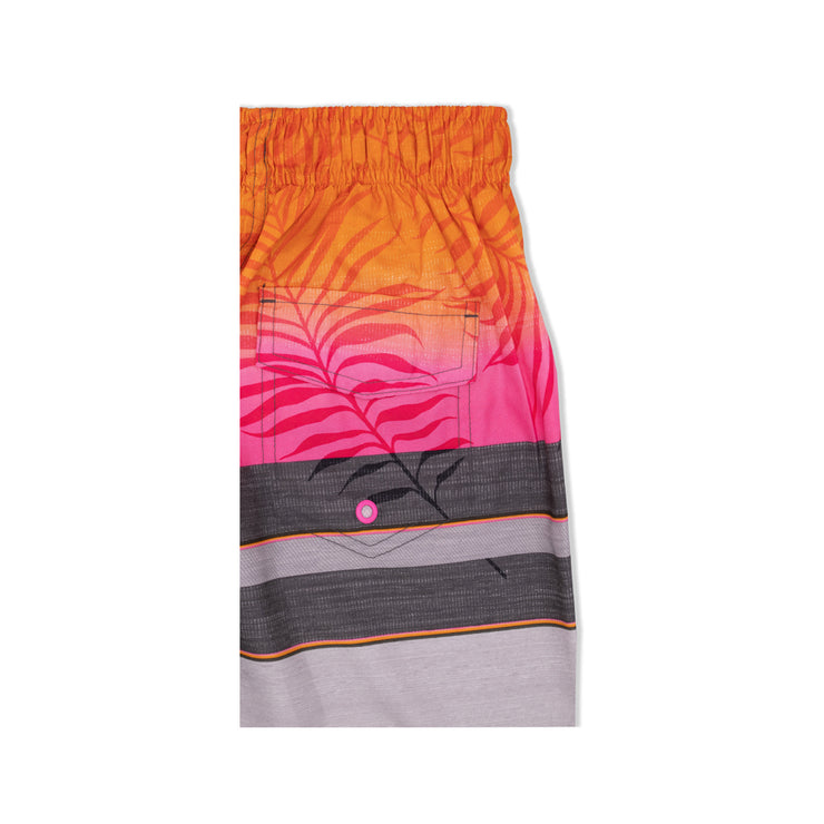 BOYS FADED PALM BOARDSHORT