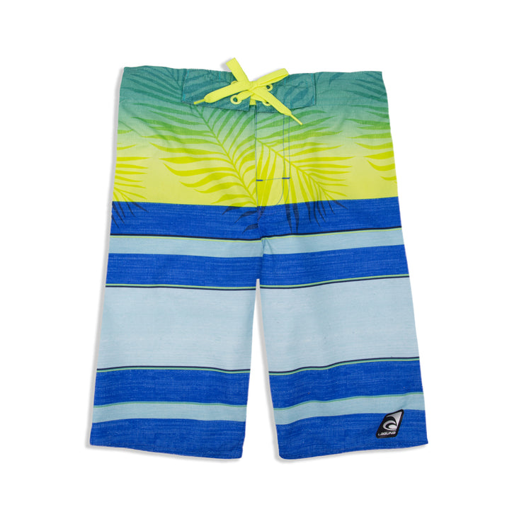 BOYS FADED PALM BOARDSHORT UPF 50