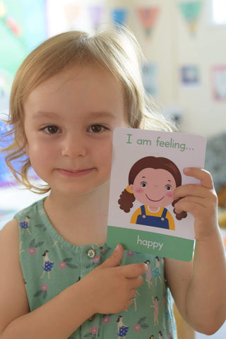 Happy emotion flashcard, anger in children, ASD, PEC cards