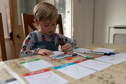 Colour flashcards for toddlers