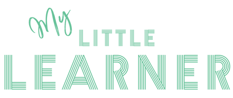My Little Learner Logo, Learning Mats, Toddler Flashcards