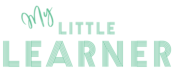 Learning Mats, Toddler Flashcards, My Little Learner Logo
