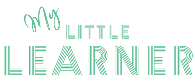 My Little Learner Logo, Green, Toddler Learning Resources