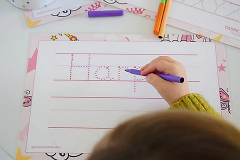 pre-writing skills, developmental age,