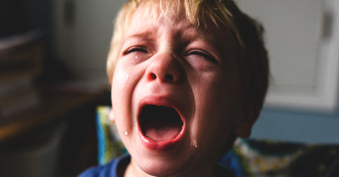 How to deal with shouting in children, shouty anger