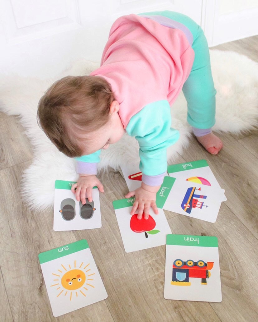Flashcards for toddlers, my first word flashcard