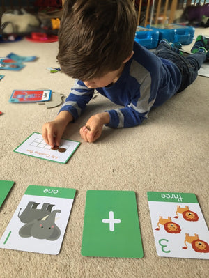 "Number Flashcards - ""Addition + Subtraction to 10"" - My Little Learner"