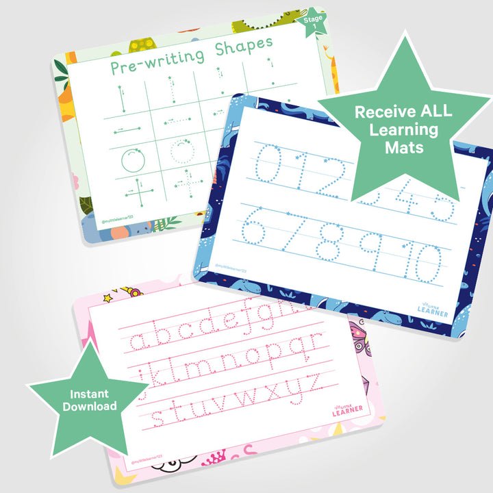 LETTER FORMATION SHEETS | PRINT AT HOME - My Little Learner
