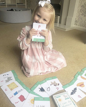Phase 2 Phonics Flashcards - My Little Learner