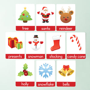 Christmas First Words Flashcards
