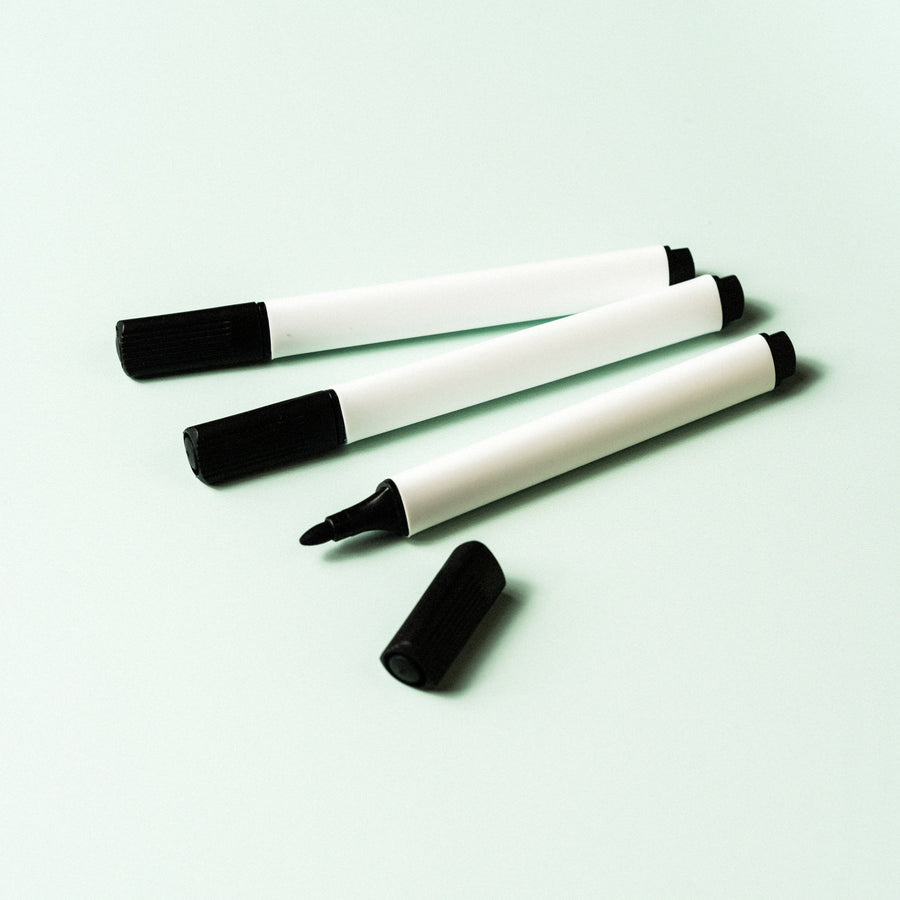 Triangular whiteboard pens
