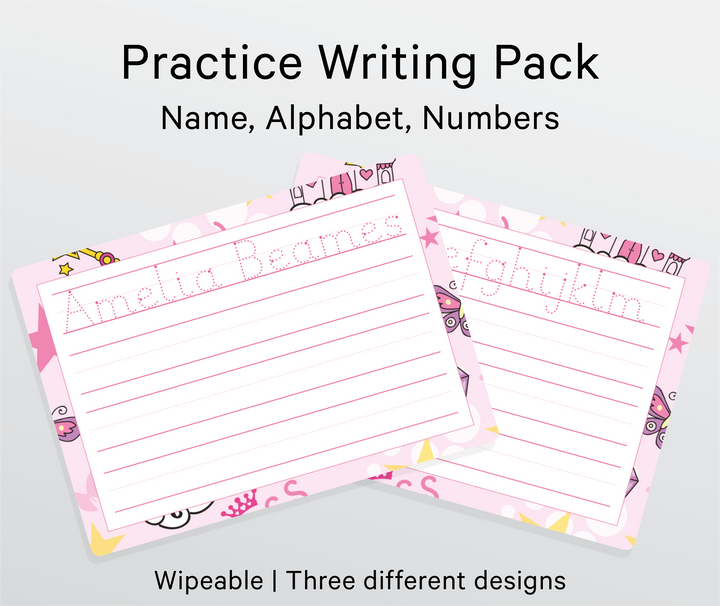 Practice Name Writing Pack - My Little Learner
