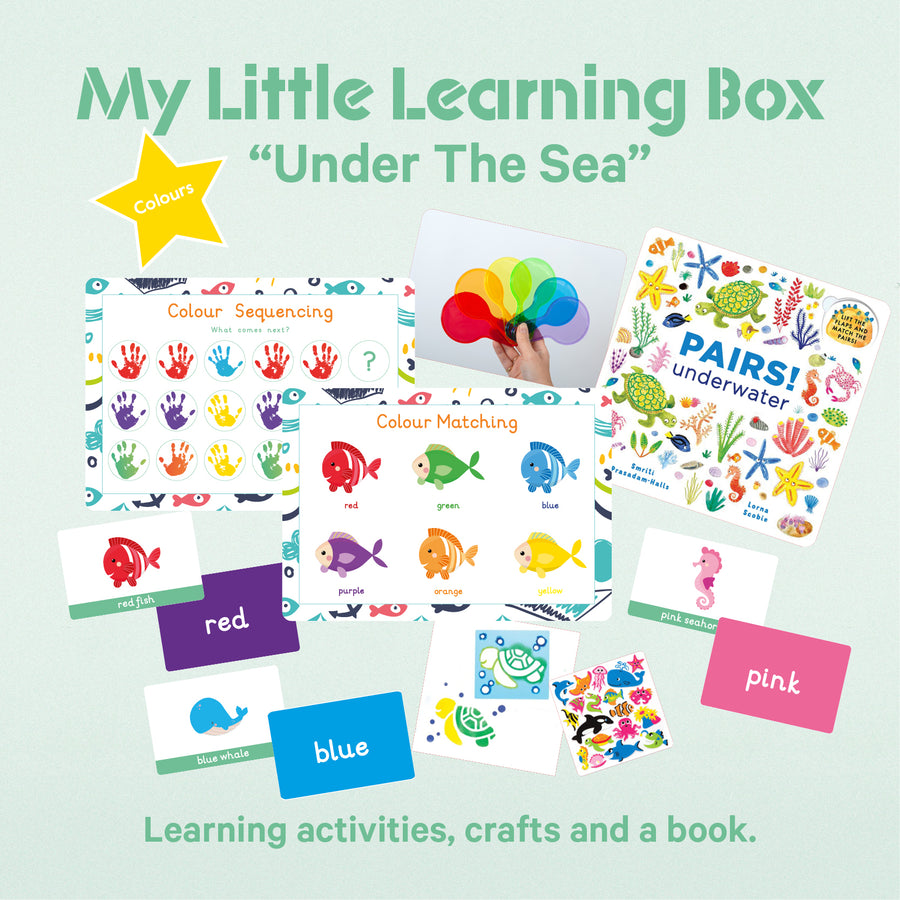"My Little Learning Box: ""Under The Sea"" - PREORDER - 12 Available"