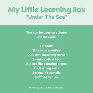 "My Little Learning Box: ""Under The Sea"""