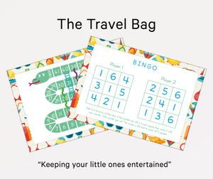 Little Learner Bag: Travel - QUIRK + foible London