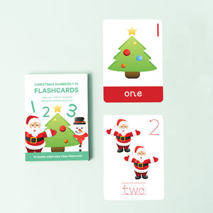 SALE NO BOXES: Christmas Number Flashcards