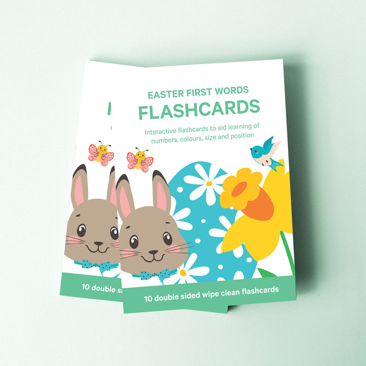 Easter flashcards for toddlers