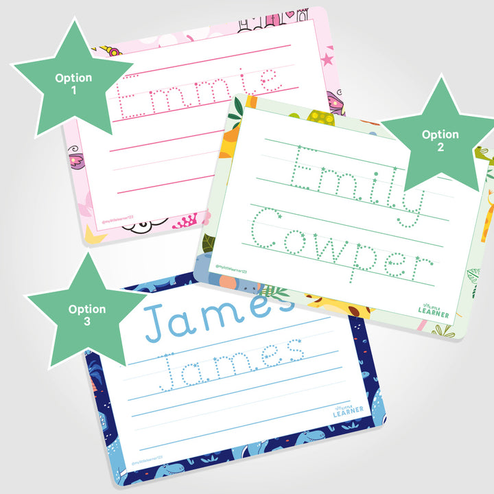 Name Tracing Worksheet | Printable - My Little Learner