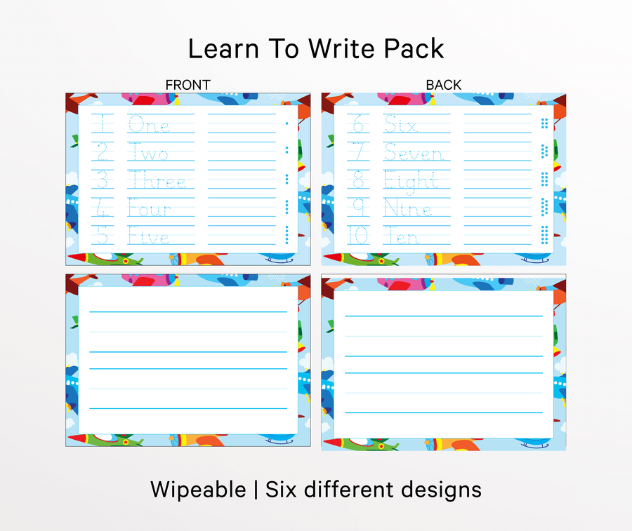 Learn To Write Tracing Pack - QUIRK + foible London