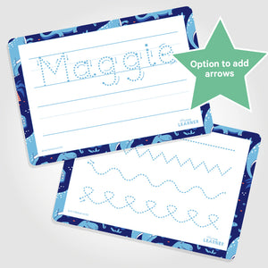 PERSONALISED LEARNING MAT | FIRST NAME | TRACING LINES - My Little Learner