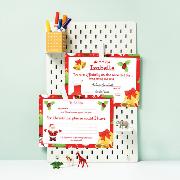 Christmas Gift Set | Advent Calendar | Nice Certification | Letter Formation