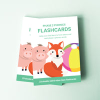 Phase 2 Phonics Flashcards