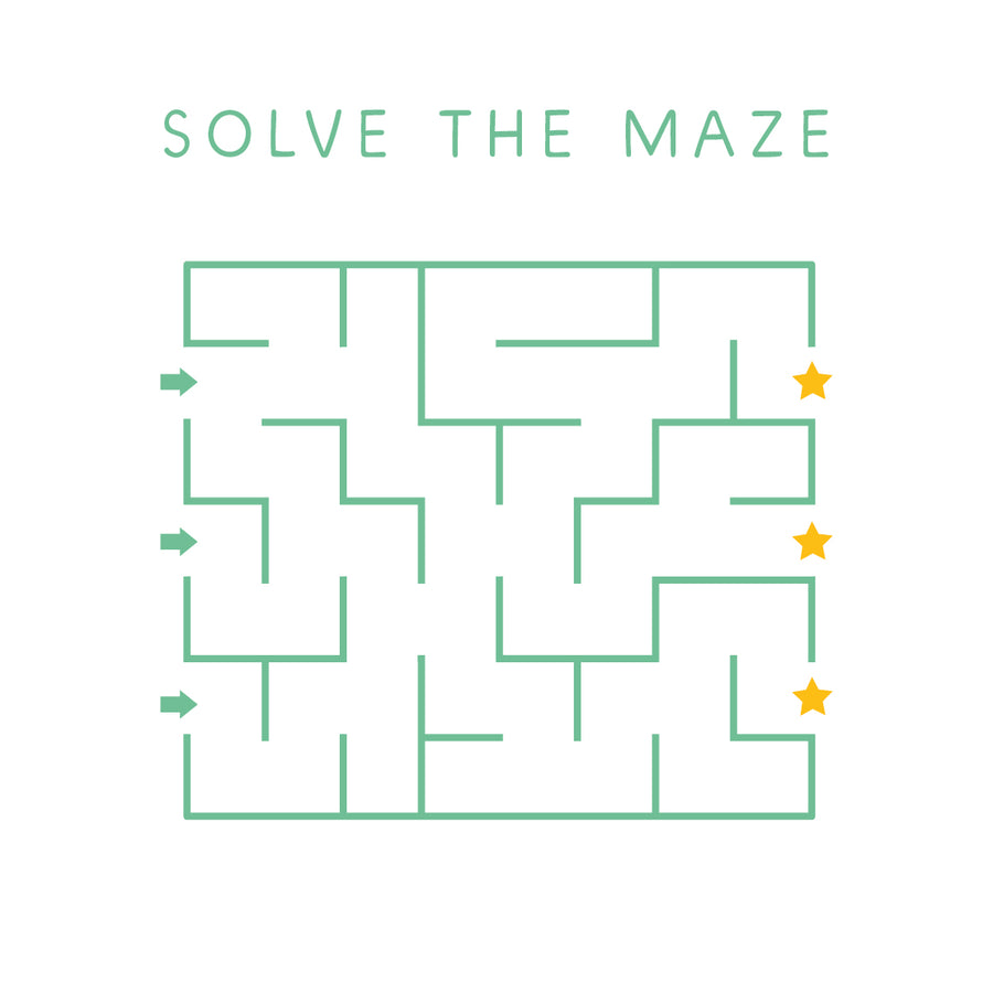 FREE mazes to aid fine motor skills - My Little Learner