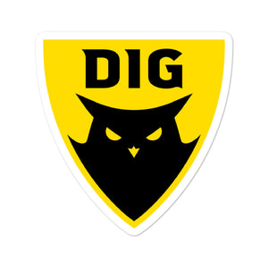 DIG Badge Sticker