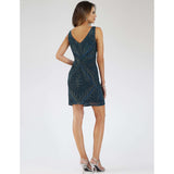 Dress Earth Lara 29706 - Embellished short dress