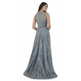 Dress Earth Lara 29750 - A-line Gown with Rhinestone Belt