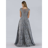 Dress Earth Lara 29752 - High Neck Ball Gown with Rhinestones
