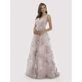 Dress Earth Lara 29764 - Feathers Ball Gown