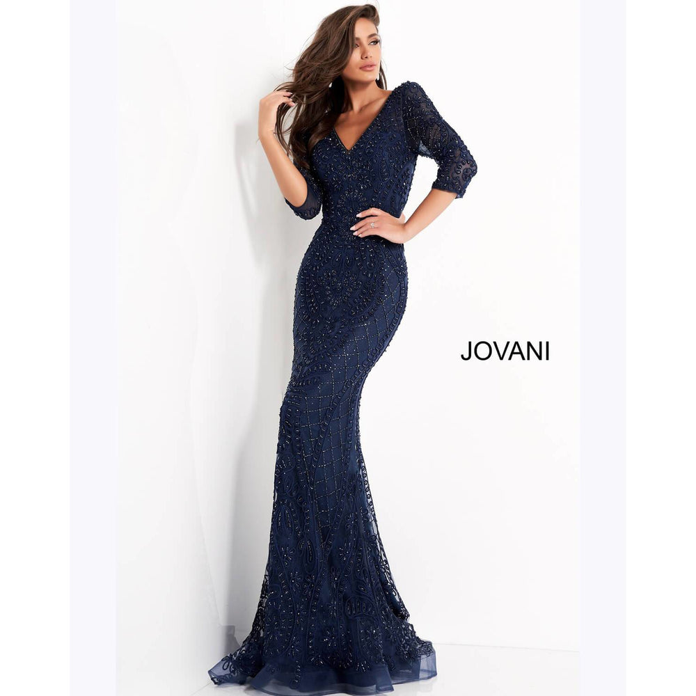 Jovani Evening Dress Jovani Evening Gown with long sleeves 03561