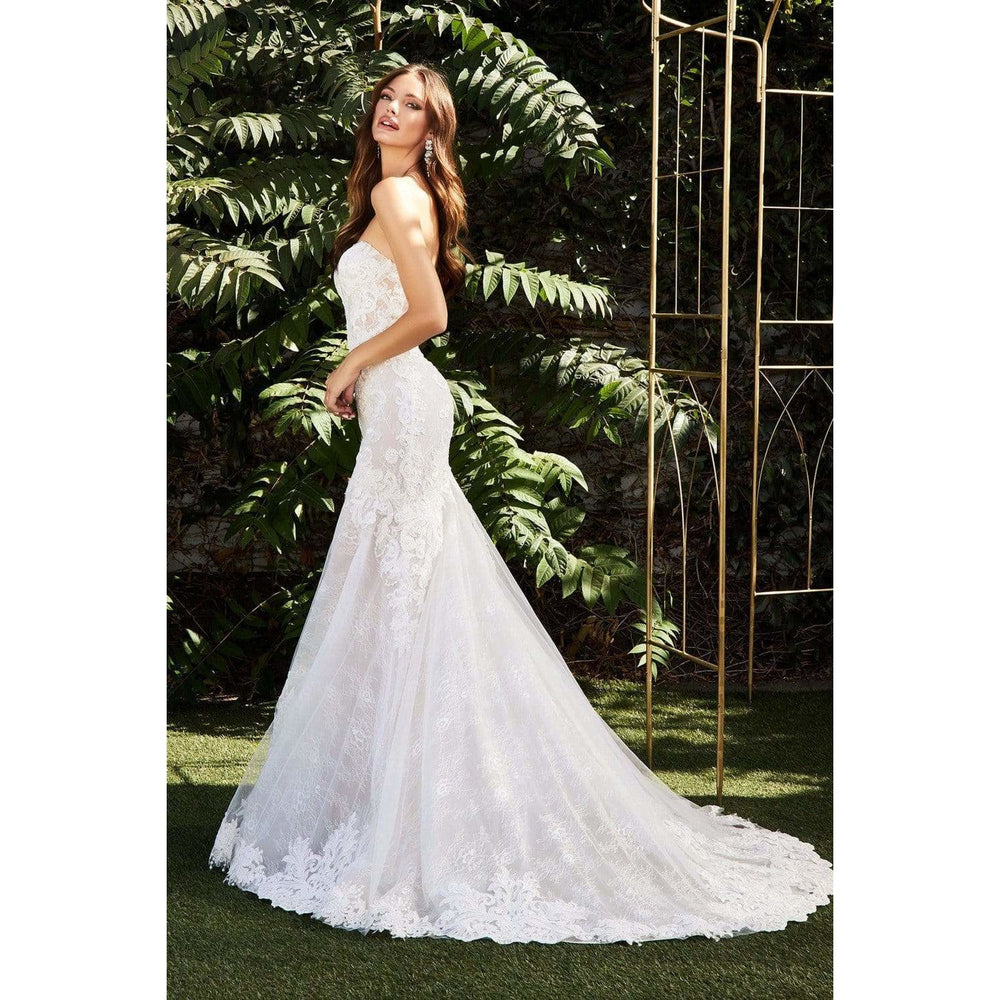 NorasBridalBoutiqueNY Bridal Gown Emily Strapless Lace Bridal Gown