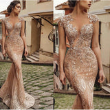 NorasBridalBoutiqueNY Couture Dress Luxurious Couture Lace and Sparkle Gown by NorasBridalBoutiqueNY