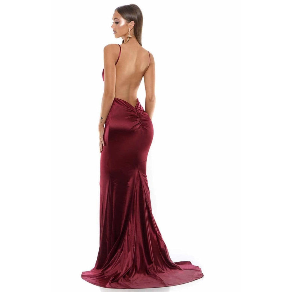 NorasBridalBoutiqueNY Portia and Scarlett Dress Portia and Scarlett 1934 Low Back Prom Dress