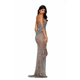Portia and Scarlett Couture Dress Portia And Scarlett Beaded Sweetheart Dress PS4058C