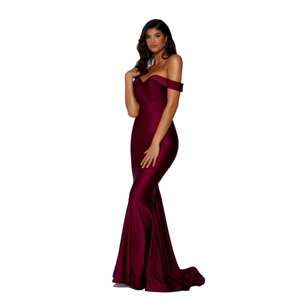 Portia and Scarlett Evening Dress Portia And Scarlett Long Fitted Prom Dress PS6368