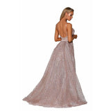 Portia and Scarlett Evening Dress PS6027S Rose Gold Portia and Scarlett