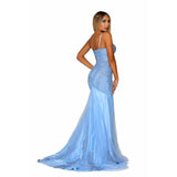 Portia and Scarlett Prom Dress Portia And Scarlett Beaded Mermaid Prom Dress PS6068