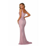 Portia and Scarlett Prom Dress Portia And Scarlett Long Beaded Prom Dress PS6327
