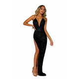 Portia and Scarlett Prom Dress Portia And Scarlett Long Fitted Prom Dress PS6376