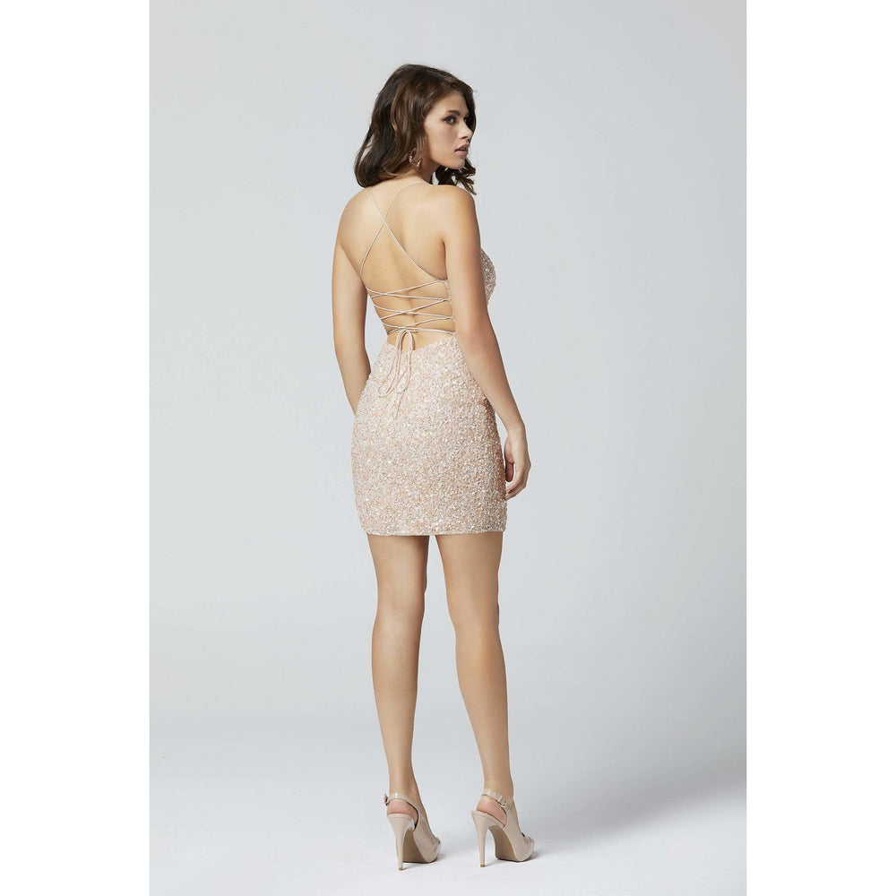 Primave Couture Cocktail Dress Primavera Couture 3351 Short Dress