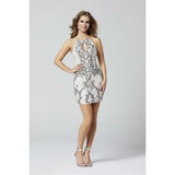 Primavera Couture Cocktail Dress Primavera 3329