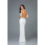 Scala USA prom gown Scala Open Back Fitted Dress 48948