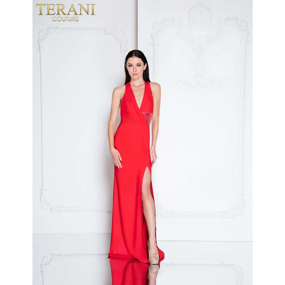 Terani Couture Evening Gowns Terani Couture Dress 1811E6103 SALE