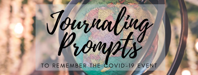 COVID-19 Journaling Prompts