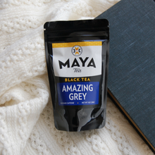 Load image into Gallery viewer, Amazing Grey Black Loose Leaf Tea