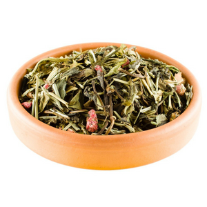 Bowl of Dragon Fruit Loose Leaf Tea